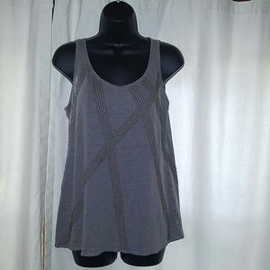 100% linen tank by Eileen Fisher